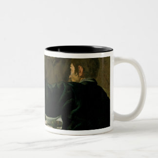 Supper at Emmaus, 1620 Two-Tone Coffee Mug