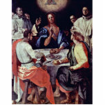 Supper At Emmaus By Pontormo Jacopo Acrylic Cut Outs