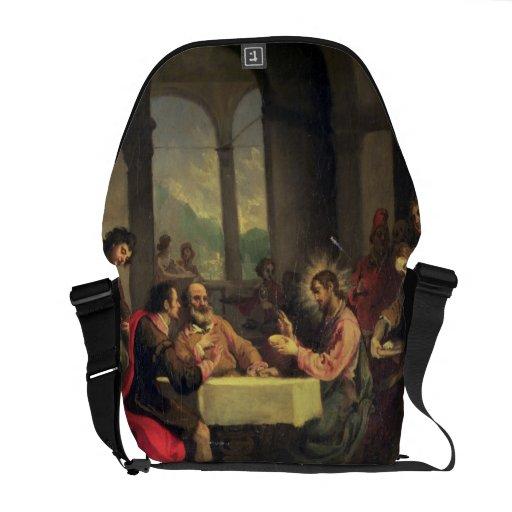Supper at Emmaus, c.1600-05 (oil on panel) Courier Bag