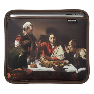 Supper at Emmaus - Caravaggio) iPad Sleeve