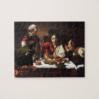 Supper at Emmaus - Caravaggio) Jigsaw Puzzle