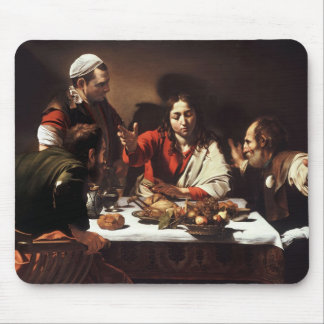 Supper At Emmaus Mouse Pad