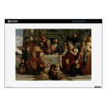 Supper at Emmaus (oil on canvas) Laptop Decals