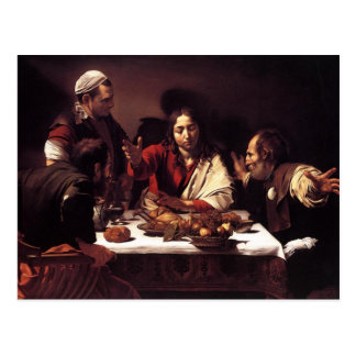 Supper at Emmaus Postcard