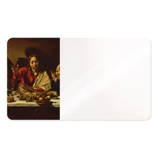 Supper at Emmaus with Friends Business Card