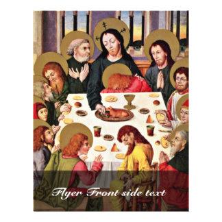 """Supper By Meister Des Hausbuches (mejor de los señ Folleto 8.5"""" X 11"""""""