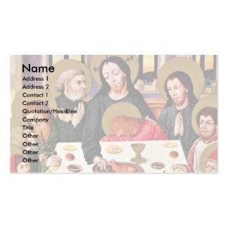 Supper By Meister Des Hausbuches (mejor de los señ Tarjetas De Visita