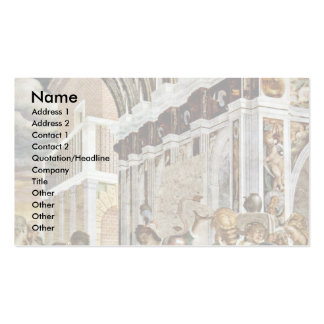 Supper In The House Of The Pharisee Business Card