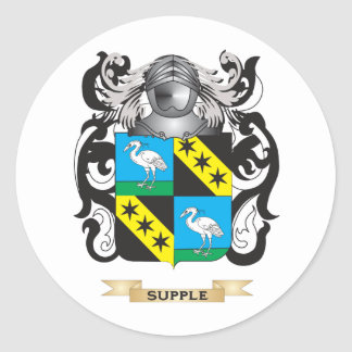 Supple Coat of Arms Family Crest Stickers