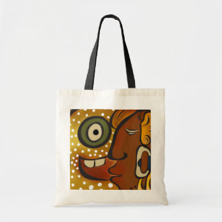 Supplementary glyph tote bag