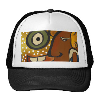 Supplementary glyph trucker hat