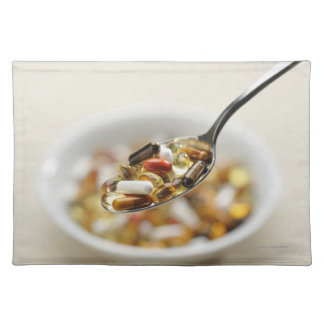 Supplements Cloth Placemat
