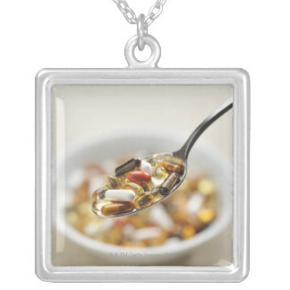 Supplements Silver Plated Necklace