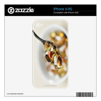 Supplements Decals For The iPhone 4S