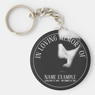 Supplies for Funeral and Bereavements Keychain