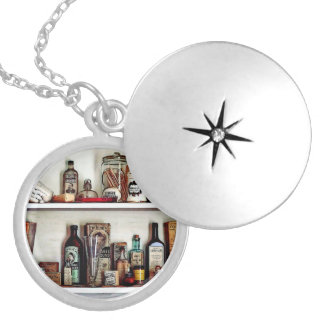 Supplies In Doctor's Office Silver Plated Necklace