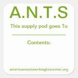 Supply Pod Sticker