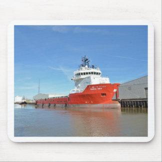 Supply Ship Durga Devi Mouse Pad