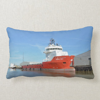Supply Ship Durga Devi Pillow