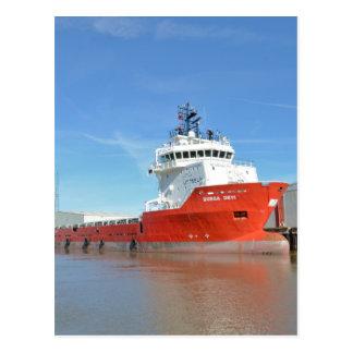 Supply Ship Durga Devi Postcard