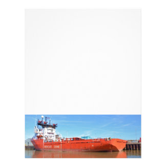 Supply Ship Energy Lord Letterhead Template