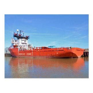 Supply Ship Energy Lord Postcard