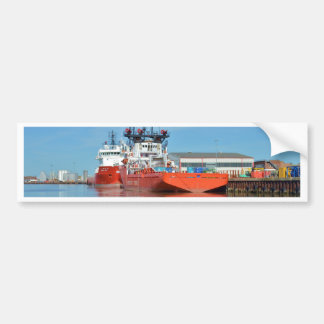 Supply Ships Energy Lord And Durga Devi Bumper Sticker
