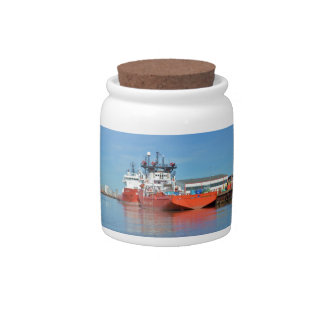 Supply Ships Energy Lord And Durga Devi Candy Jars