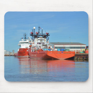 Supply Ships Energy Lord And Durga Devi Mousepad