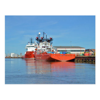 Supply Ships Energy Lord And Durga Devi Postcard