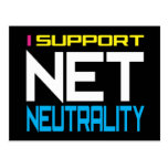 Suppor Net Neutrality Postcard