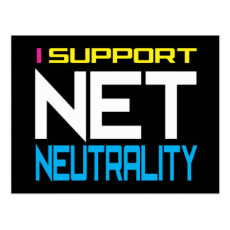 Suppor Net Neutrality Postcard