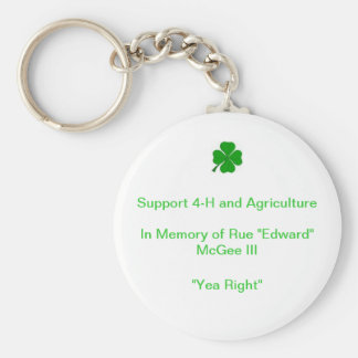 Support 4-H and Ag Edward McGee keychain