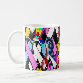 Support a Cause Classic White Coffee Mug