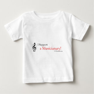 Support a Musicianary Baby T-Shirt