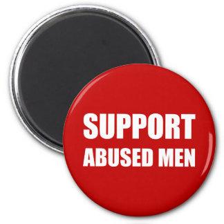 Support Abused Men Magnet