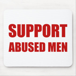 Support Abused Men Mouse Pad