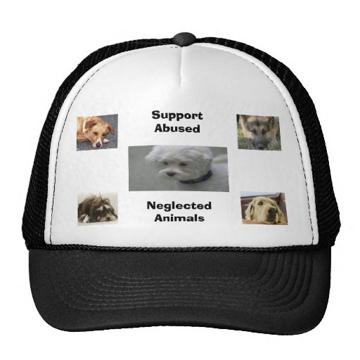 Support Abused Ne... Mesh Hats
