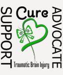 Support Advocate Cure 2 Traumatic Brain Injury T Shirt