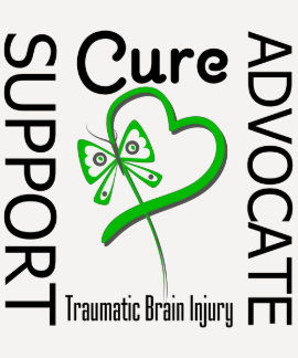 Support Advocate Cure 2 Traumatic Brain Injury T Shirt