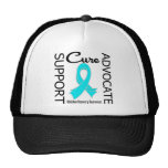 Support Advocate Cure Addiction Recovery Trucker Hats