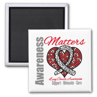 Support Advocate Cure - Lung Cancer Magnet
