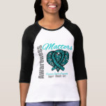 Support Advocate Cure - Ovarian Cancer T-shirt