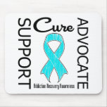 Support Advocate Cure v2 Addiction Recovery Mouse Pad
