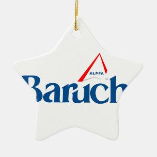 Support ALPFA Baruch With Pride! Ceramic Ornament
