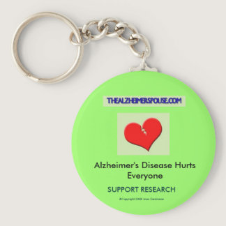 Support Alzheimer Research Keychain