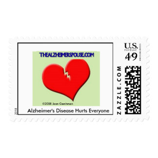 Support Alzheimer Stamp..... Customized Postage
