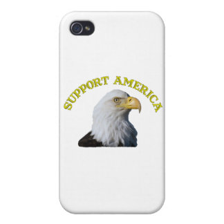 Support America Eagle iPhone 4 Case