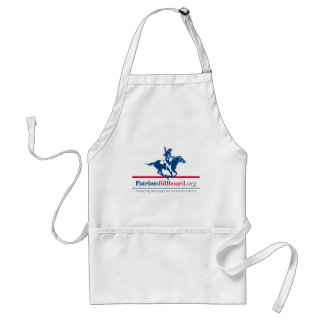 Support American values at PatriotsBillboard.org Apron