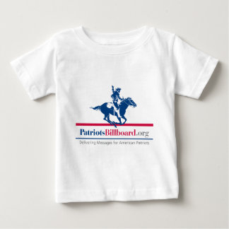 Support American values at PatriotsBillboard.org Baby T-Shirt